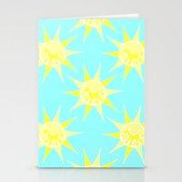 Unicorn Sun Stationery Cards