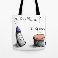 Silly Paint Tote Bag