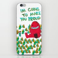 I'm Going To Make You Proud iPhone & iPod Skin