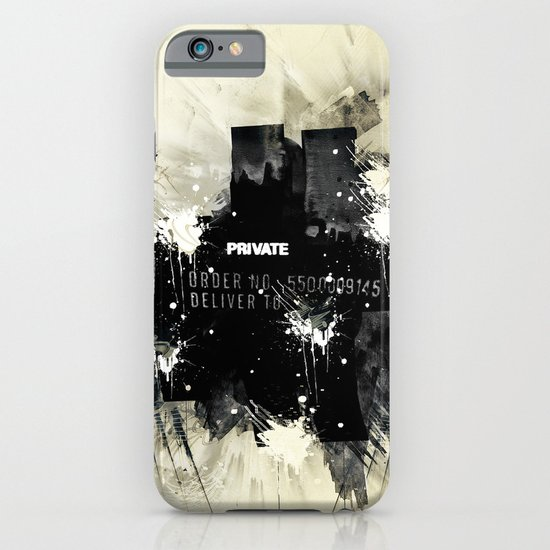 Private place iPhone & iPod Case