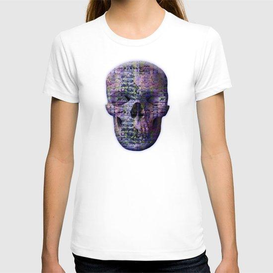Post-Digital Tendencies Emerge (P/D3 Glitch Collage Studies) T-shirt