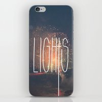 SKY LIGHTS iPhone & iPod Skin