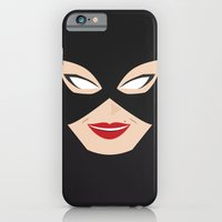 iPhone & iPod Case featuring Catwoman by Shakeel