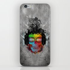 Rebel music iPhone & iPod Skin