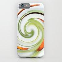 Lily Stamen Twirled iPhone 6 Slim Case