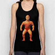 Stretch Armstrong Unisex Tank Top