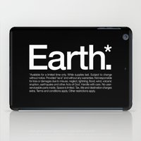 Earth.* Available for a limited time only. iPad Case