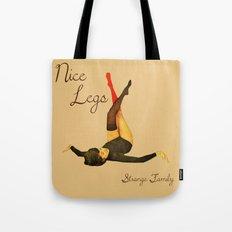 Nice Legs - Strange Family Tote Bag