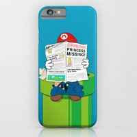 iPhone Cases featuring Mario by Altay