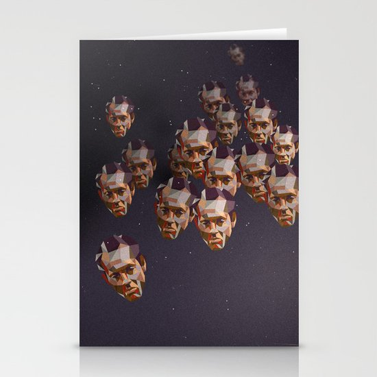 A head of the pack Stationery Card