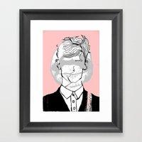 Blank,   Framed Art Print