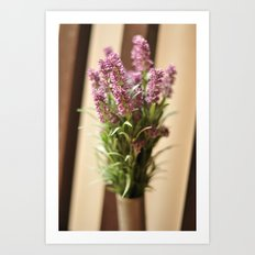 Lavender Abroad Art Print