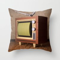 It's Time For The Ed Sul… Throw Pillow