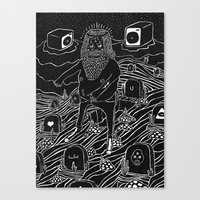 Muerto Viviente Canvas Print