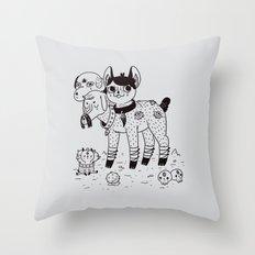 Beelzebub's Best Friends Throw Pillow
