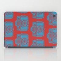 I Still Shoot Film Holga Logo - Red & Blue iPad Case