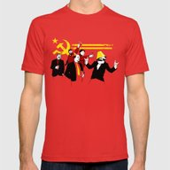 The Communist Party (ori… Mens Fitted Tee Red SMALL