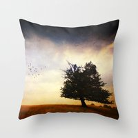 Momentum Throw Pillow