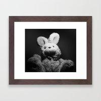 Youth Fluff Framed Art Print