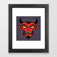 Mad Devil Framed Art Print