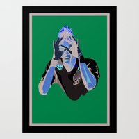 Neymar - IBWM - The 100 Art Print