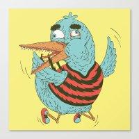 Rubro duck Canvas Print
