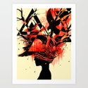 Mindless Art Print