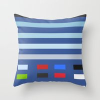Throw Pillow featuring You know what I'm talking about... [HISTORICAL INFLUENCE] [SOCIAL MEDIA] [HISTORICAL INVENTION] by David Nuh Omar