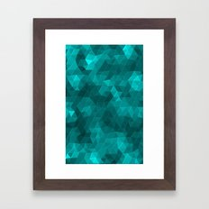 Kaleidoscope Series Crystal Framed Art Print