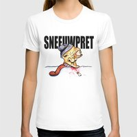 Sneeuwpret (Dutch) Womens Fitted Tee White SMALL