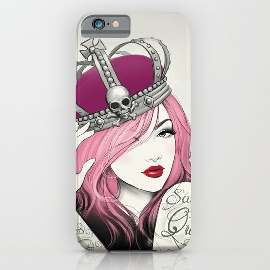 Save The Queen iPhone & iPod Case
