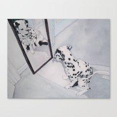 Roxie the Dalmatian 1 Canvas Print