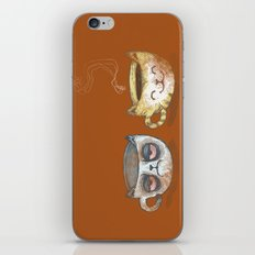 Grumpy Cup, Happy Cup iPhone & iPod Skin