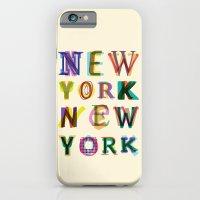 New York New York iPhone 6 Slim Case
