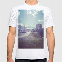 Welcome to the Alaska State Fair Mens Fitted Tee Ash Grey SMALL