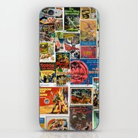 Vintage Sci-Fi Movie Pos… iPhone & iPod Skin
