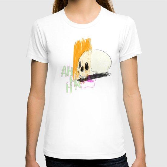 AHHHHHHR IT'S A SKULL (ACTUALLY IT'S JUST THE CRANIUM) T-shirt
