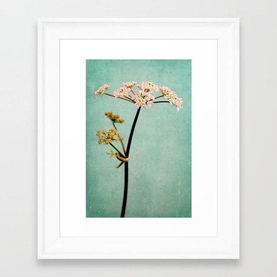 hogweed Framed Art Print