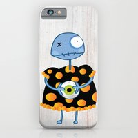 iPhone & iPod Case featuring Little Lulu Unzicker with Her Favorite Pet Eye. by Jaina Hill-Rodriguez