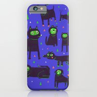iPhone & iPod Case featuring 7 dogs and 1 cat by Lupo Manaro
