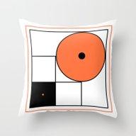 Abstract Composition B&O Throw Pillow