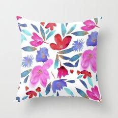 LeiLani Flower Throw Pillow