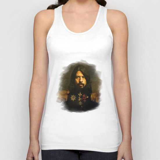Dave Grohl - replaceface Unisex Tank Top