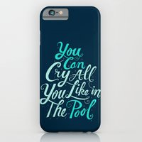 Cry In The Pool iPhone 6 Slim Case