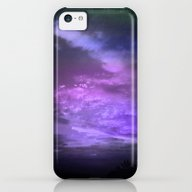 Purple Twilight Sky iPhone 5c Slim Case