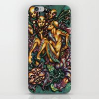 Mentalice And The Cheshi… iPhone & iPod Skin