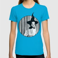 My Grandma Did The Hocus Pocus Womens Fitted Tee Teal SMALL