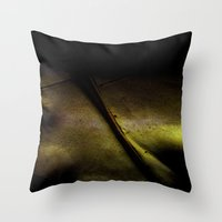Tainted Throw Pillow