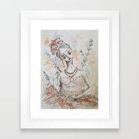 Age of Innocence Framed Art Print