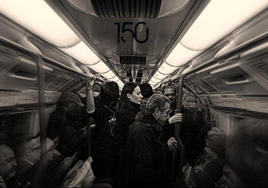 London Tube 150th Anniversary  Art Print